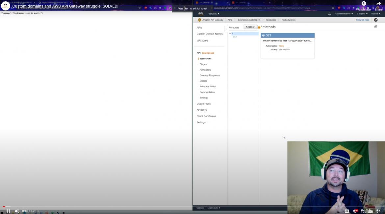 AWS Lambda and API Gateway