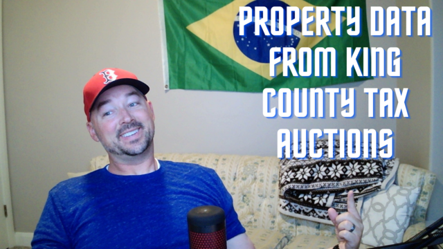 How to get property data on tax auctions in King county, WA – DIY, no third party software