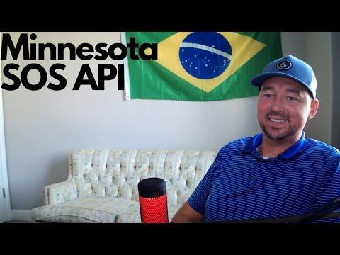 Minnesota Secretary of State business data via API