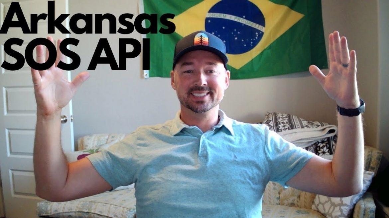 Arkansas Secretary of State business data via API