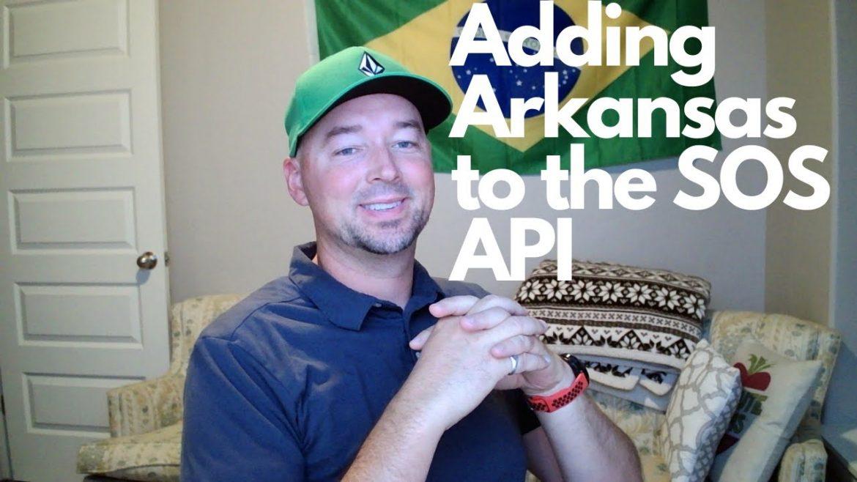 Secretary of State API goes to Arkansas