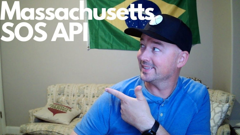 Massachusetts Secretary of State business data via API