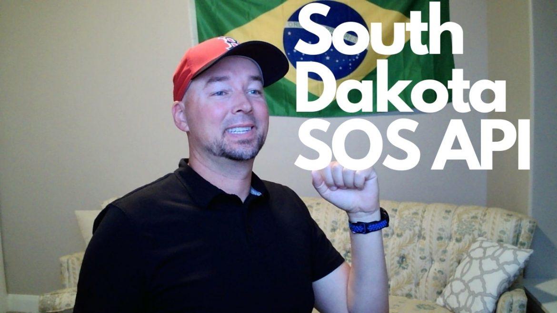 South Dakota Secretary of State business data via API