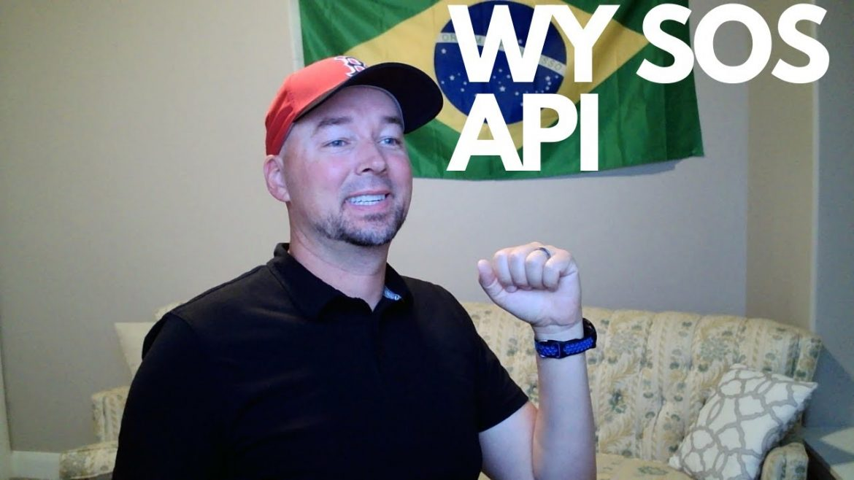 Wyoming Secretary of State business data via API